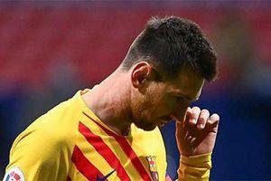 Messi không có tên trong danh sách đăng ký thi đấu ở trận Barca và Dynamo Kiev