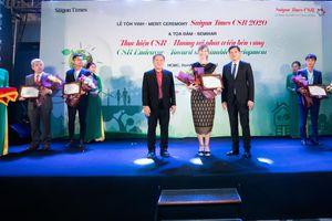HEINEKEN Việt Nam được vinh danh là 'Doanh nghiệp vì cộng đồng - Saigon Times CSR 2020'