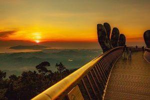 Cầu Vàng đẹp trong mọi khoảnh khắc thời gian