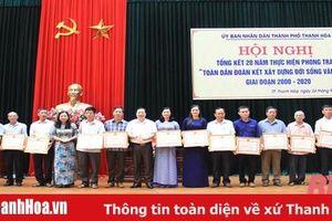 Lan tỏa phong trào 'Toàn dân đoàn kết xây dựng đời sống văn hóa'