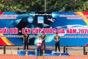 Giải bơi - lặn Cúp QG 2020: Đồng Nai giành 4 HCV, 3 HCB, 5 HCĐ