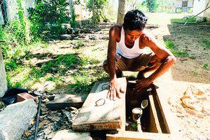 Hệ thống cấp nước sạch bỏ hoang
