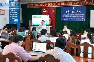 Tập huấn triển khai phát hành biên lai điện tử và thanh toán trực tuyến