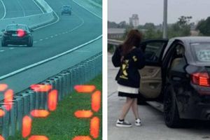 Tài xế ô tô BMW chạy tốc độ 223 km/h trên cao tốc: 'Em vội đi ăn cưới'
