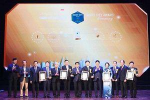 Trao 54 Giải thưởng Thành phố thông minh 2020 cho các doanh nghiệp, tổ chức, đơn vị
