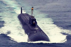 Tàu ngầm hạt nhân Kazan bắn thành công tên lửa hành trình Calibre ở Biển Trắng