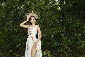 Đại diện Việt Nam tại Hoa hậu Trái đất 2020: Làm đồng, buôn rau phụ gia đình