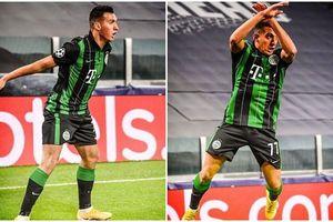 Cầu thủ vô danh ăn mừng như Ronaldo ngay trên sân Juventus