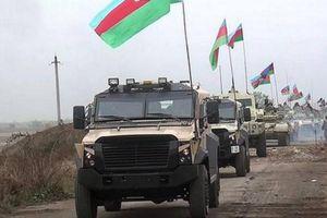 Quân đội Azerbaijan tiến vào khu vực mới ở Karabakh