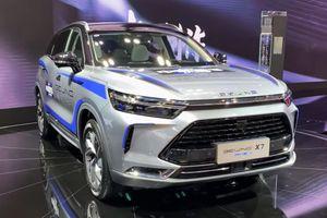 Chi tiết Beijing X7 phiên bản hybrid tại Trung Quốc