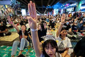 Người biểu tình đòi vua Thái bàn giao quỹ hoàng gia trị giá 37 tỷ USD
