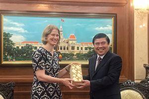 'TP.HCM là điểm sáng nhất của quan hệ hợp tác Việt Nam - New Zealand'