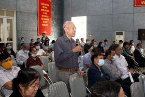 Đại biểu Quốc hội tiếp xúc cử tri quận Hoàng Mai