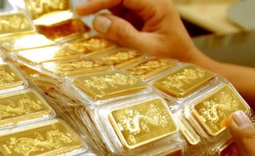 Giá vàng SJC giảm mạnh