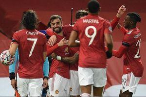 Bruno tỏa sáng, M.U thắng tưng bừng tại Champions League