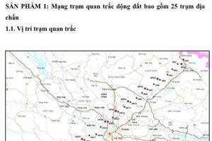Áp dụng định vị toàn cầu nghiên cứu vỏ trái đất miền Bắc Việt Nam