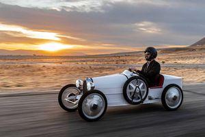 Ngắm ô tô 'mini' Bugatti Baby II sản xuất mô phỏng xe đua Type 35