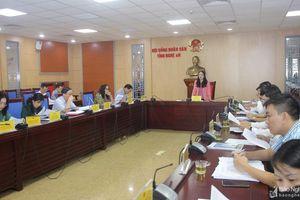Kỳ họp HĐND tỉnh Nghệ An cuối năm 2020: Chất vấn nhiều nội dung theo hình thức 'hỏi 1 phút, trả lời 3 phút'