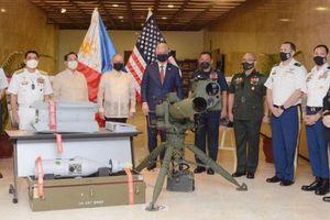 Philippines nhận 18 triệu USD trang thiết bị quốc phòng từ Mỹ