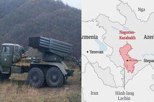 Vũ khí hạng nặng Nga gìn giữ hòa bình tại Nagorno-Karabakh