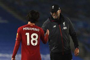 HLV Klopp hứa trao thêm cơ hội cho Minamino