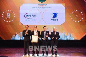 VNPT được bình chọn doanh nghiệp xuất sắc cung cấp giải pháp công nghệ thông tin