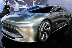 Beijing Radiance Concept, sẵn sàng đối đầu Tesla Model S