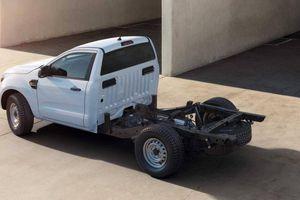 Vua bán tải Ford Ranger sẽ có phiên bản 2 chỗ ngồi