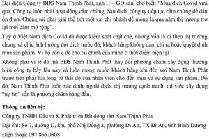 Nam Thịnh Phát xây dựng thương hiệu từ chữ tín