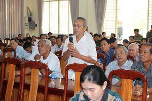 Thoại Sơn: Hội nghị 'Công an lắng nghe ý kiến nhân dân'
