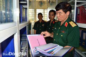Kiểm tra công tác Đảng, công tác chính trị tại Bộ CHQS tỉnh