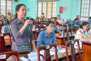 Cử tri H.Xuân Lộc và H.Cẩm Mỹ quan tâm nhiều vấn đề dân sinh