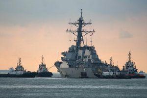 Nga tuyên bố đuổi tàu chiến Mỹ ở vùng biển Thái Bình Dương