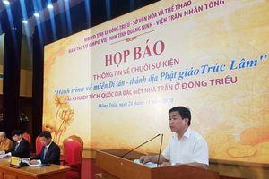 Đông Triều (Quảng Ninh): Trùng tu xây dựng di tích nhà Trần