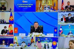 Thông qua tuyên bố chung của Hội nghị Bộ trưởng ASEAN về phòng, chống tội phạm xuyên quốc gia lần thứ 14