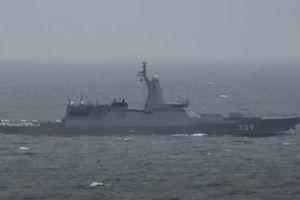 Nga tập trận phóng tên lửa cảnh cáo tàu chiến Mỹ