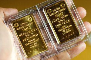 Giá vàng trong nước chạm ngưỡng thấp nhất trong 4 tháng qua