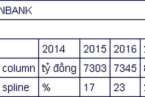 VietinBank dự kiến lợi nhuận tăng 10-12% mỗi năm
