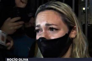 Người tình cũ của Maradona khóc khi phải đứng ngoài cổng