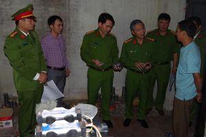 Xóa sổ cơ sở sản xuất đạn chì với số lượng lớn