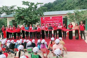 Điểm trường bản Sam Lang có thêm hai phòng học mới