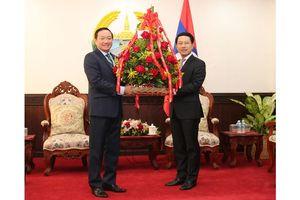 Chúc mừng Quốc khánh Lào lần thứ 45