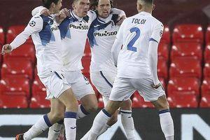 Ghi 2 bàn trong 3 phút, Atalanta thắng sốc Liverpool ở Anfield