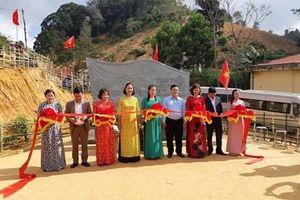 Khánh thành và bàn giao công trình Bia lưu niệm Tây Tiến ở Sài Khao