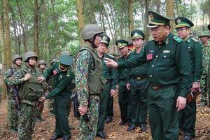 Đặc nhiệm Biên phòng Việt Nam trang bị giáp, mũ chống đạn hiện đại