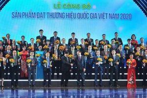Vinh danh 124 doanh nghiệp tiêu biểu đạt Thương hiệu quốc gia năm 2020
