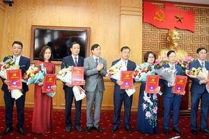 Ban Thường vụ Tỉnh ủy Lai Châu công bố các quyết định của về công tác cán bộ
