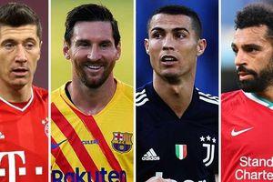 Cầu thủ xuất sắc nhất thế giới The Best 2020: Lewandowski thách thức Messi, Ronaldo