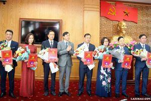 Tỉnh ủy Lai Châu phân công, bổ nhiệm nhiều cán bộ