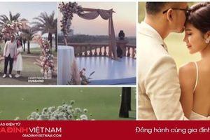Lộ ảnh hiếm về lễ cưới MC Thu Hoài: Độc - xịn - lạ không giống ai